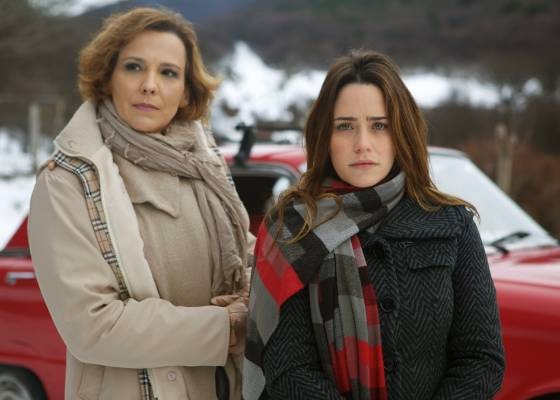 Ana Beatriz Nogueira e Fernanda Vasconcellos gravam A Vida da Gente na Argentina (julho/2011)