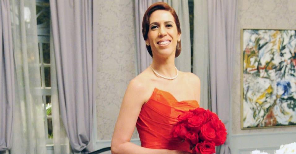 """Maria Clara Gueiros em cena de """"Insensato Coração"""" (15/8/2011)"""