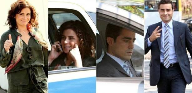 Giovanna Antonelli e Ricardo Pereira gravam cenas de
