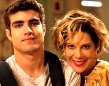 Caio Castro e Ângela Vieira em