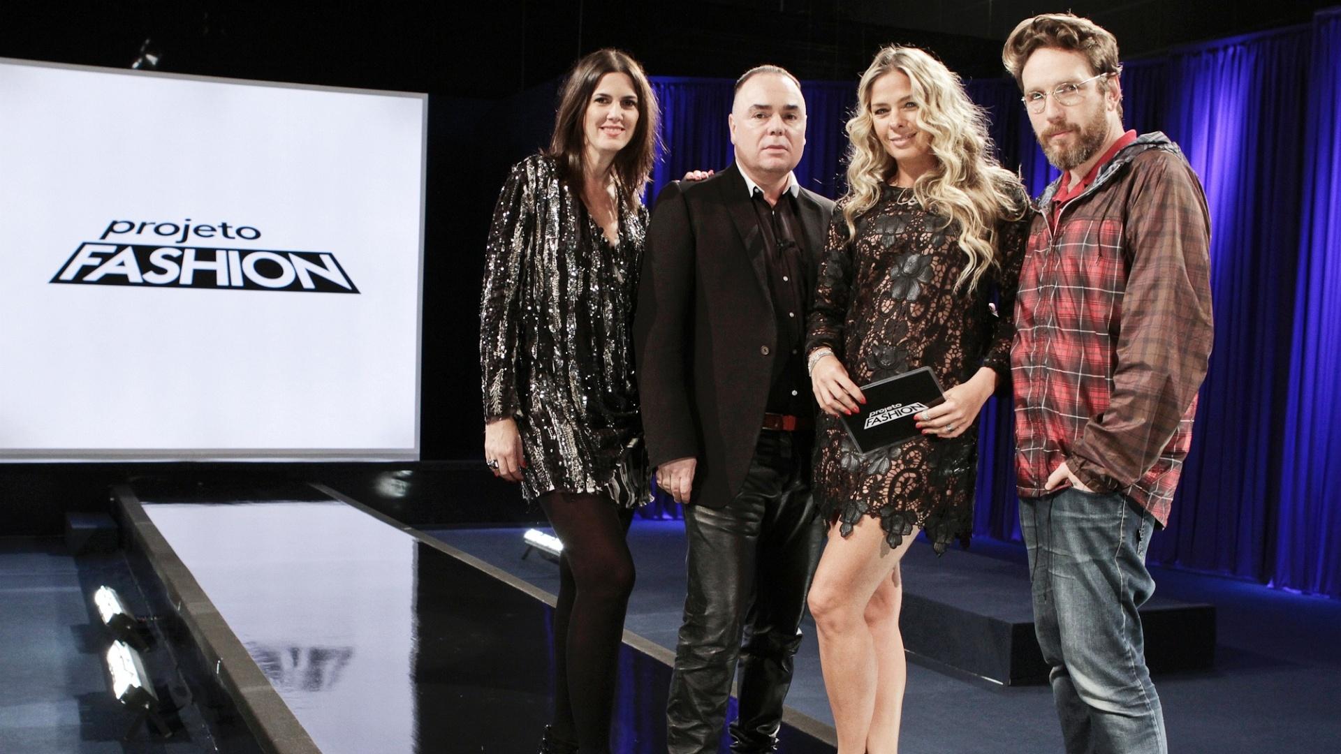 Susana Barbosa, Reinaldo Lourenço, Adriane Galisteu e Alexandre Herchcovich (agosto/2011)
