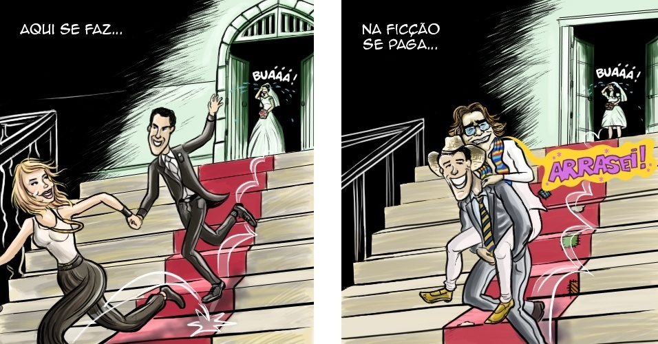 CHARGE: Disputado na vida real, Joaquim Lopes
