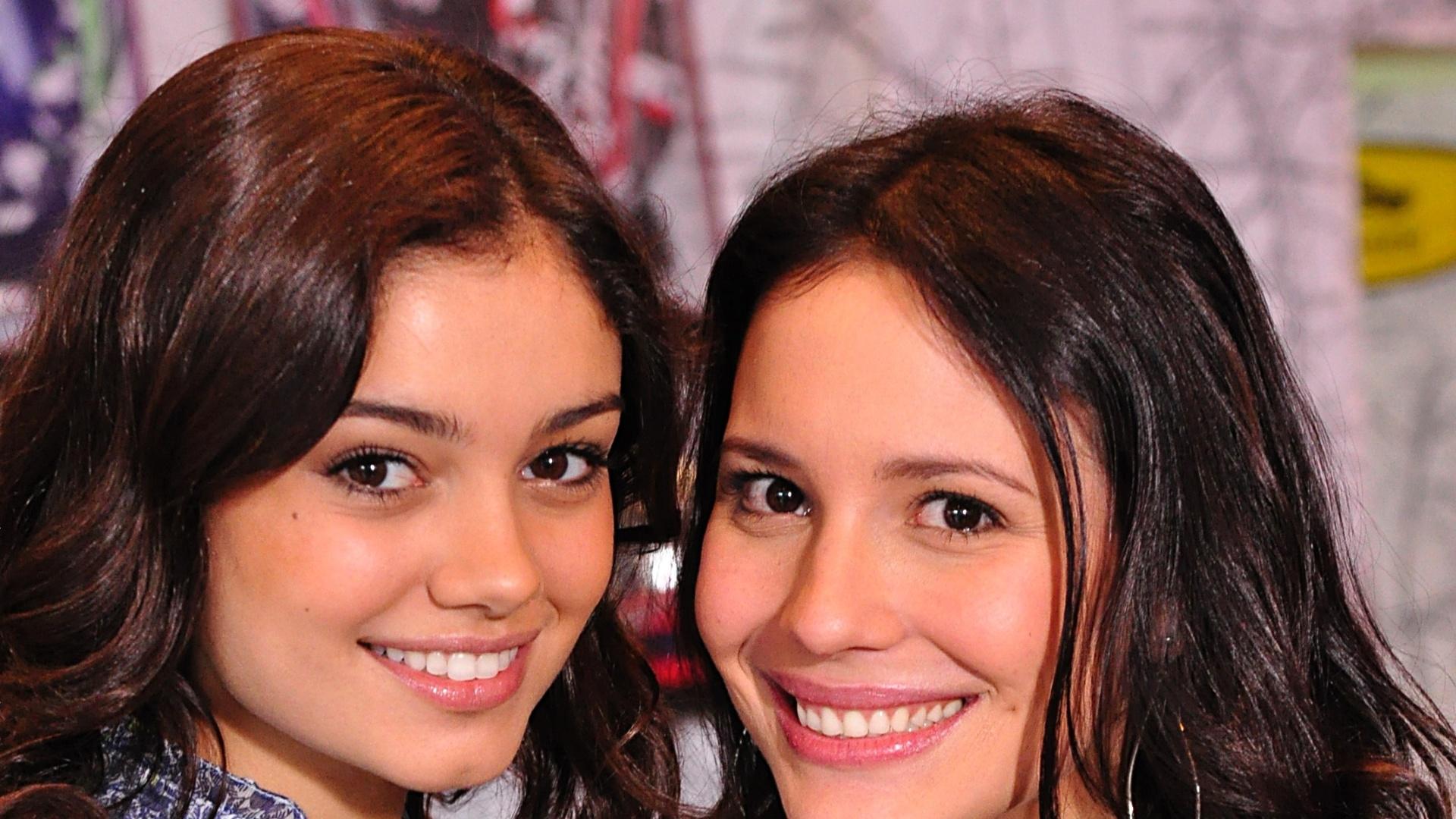 Sophie Charlotte e Juliana Knust da novela Fina Estampa (25/10/2011)