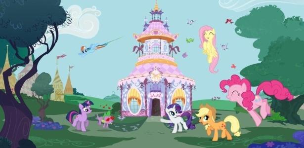 """Imagem do desenho """"My Little Pony"""", disponível em serviços de TV por streaming"""