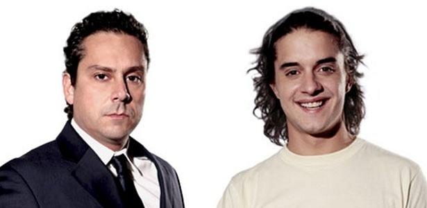 Alexandre Nero e Guilherme Boury são Baltazar e Daniel, respectivamente, em