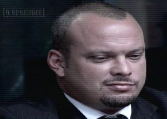 Diego Martins é o nono eliminado de O Aprendiz 8 (29/11/11)