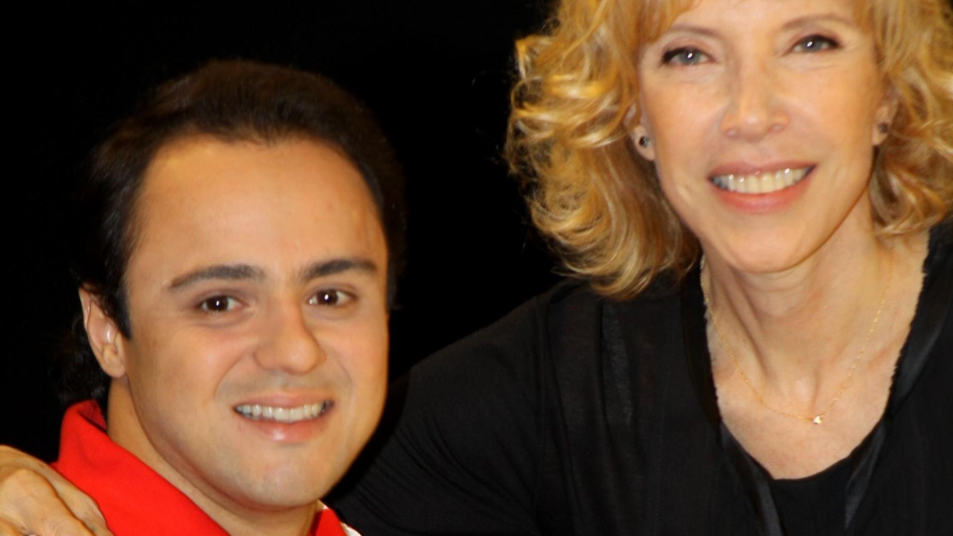 Felipe Massa é entrevistado por Marília Gabriela no