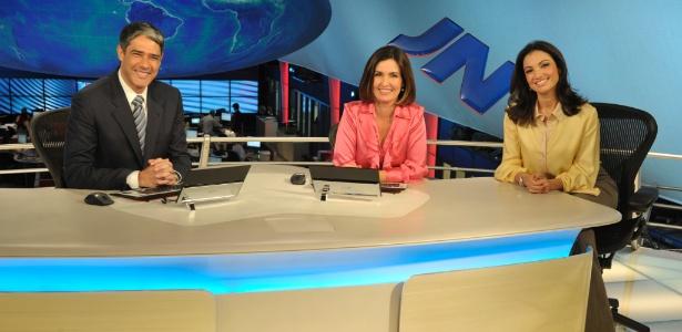 Fátima Bernardes se despede do JN e Patrícia Poeta estreia no telejornal (5/12/11)
