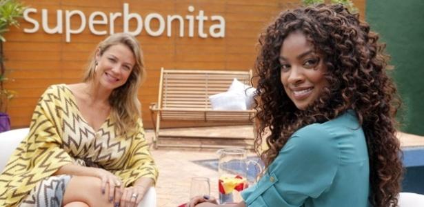 A apresentadora Luana Piovani e a atriz Cris Vianna no