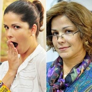 Samara Felippo passa por transformação para viver filha de Dercy Gonçalves aos 50 anos