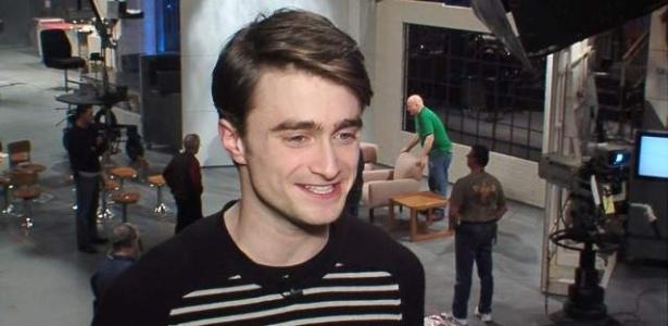Daniel Radcliffe nos bastidores do SNL