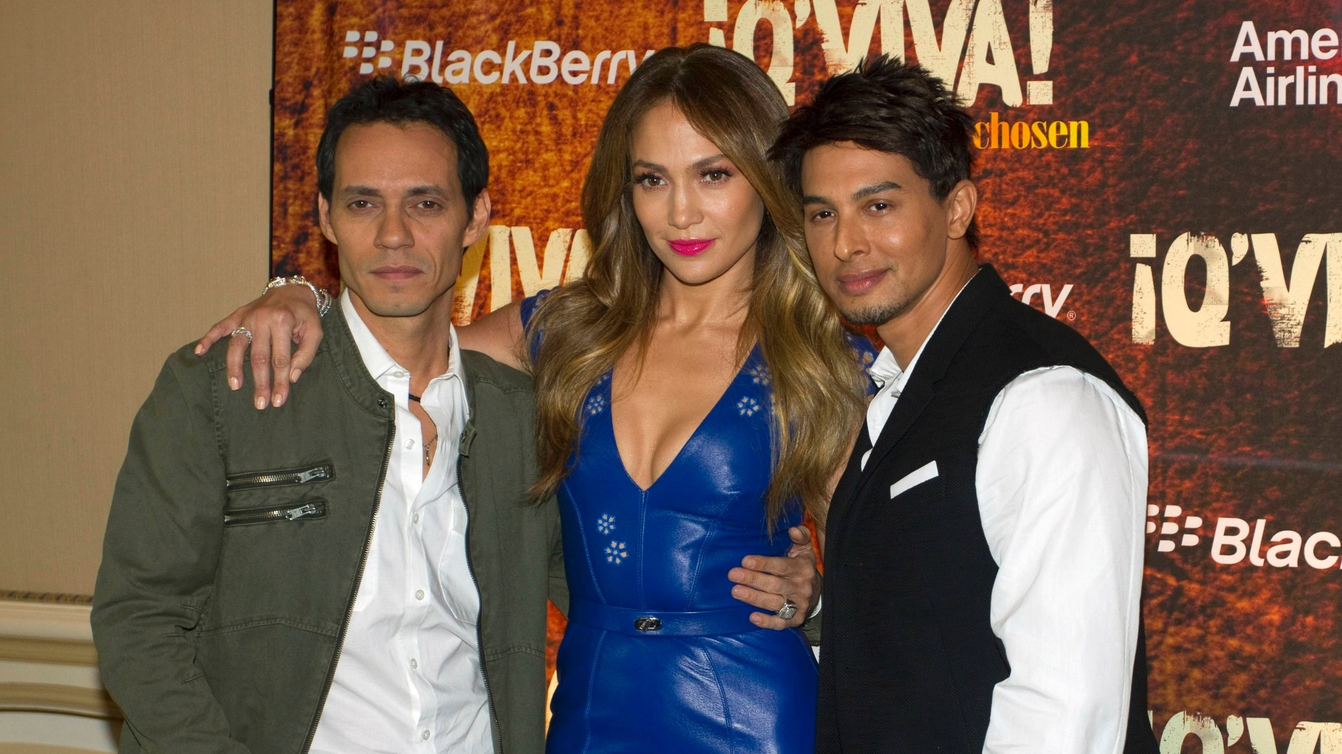 Jennifer Lopez e Marc Anthony promovem novo reality show