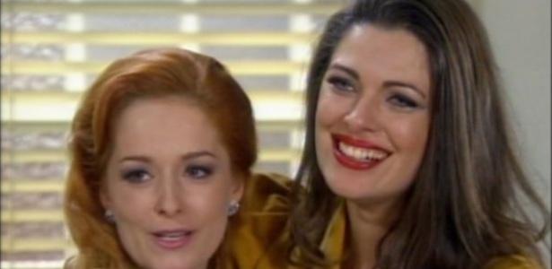 Luciana Vendramini e Giselle Tigre no último capítulo de