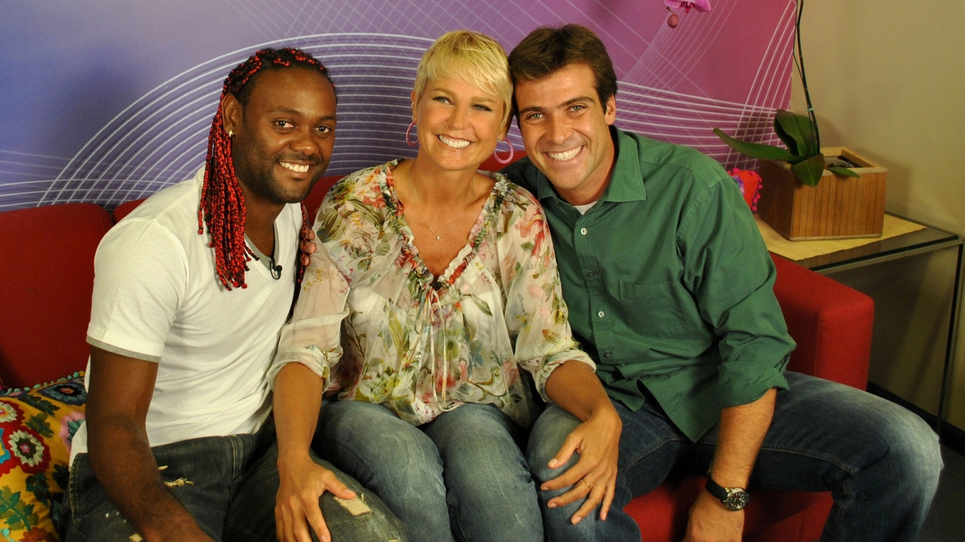 Vagner Love, Xuxa e o reprter do 