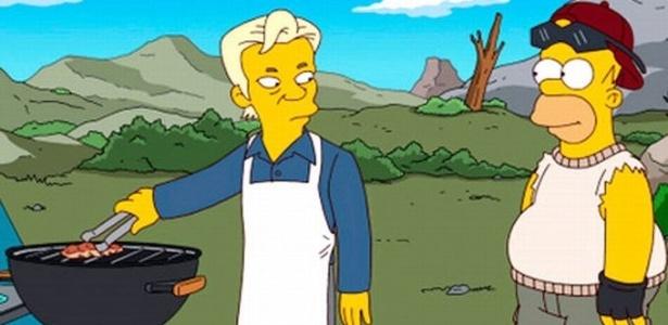 """Julian Assange, criador do Wikileaks, é convidado especial de episódio 500 dos """"Simpsons"""""""
