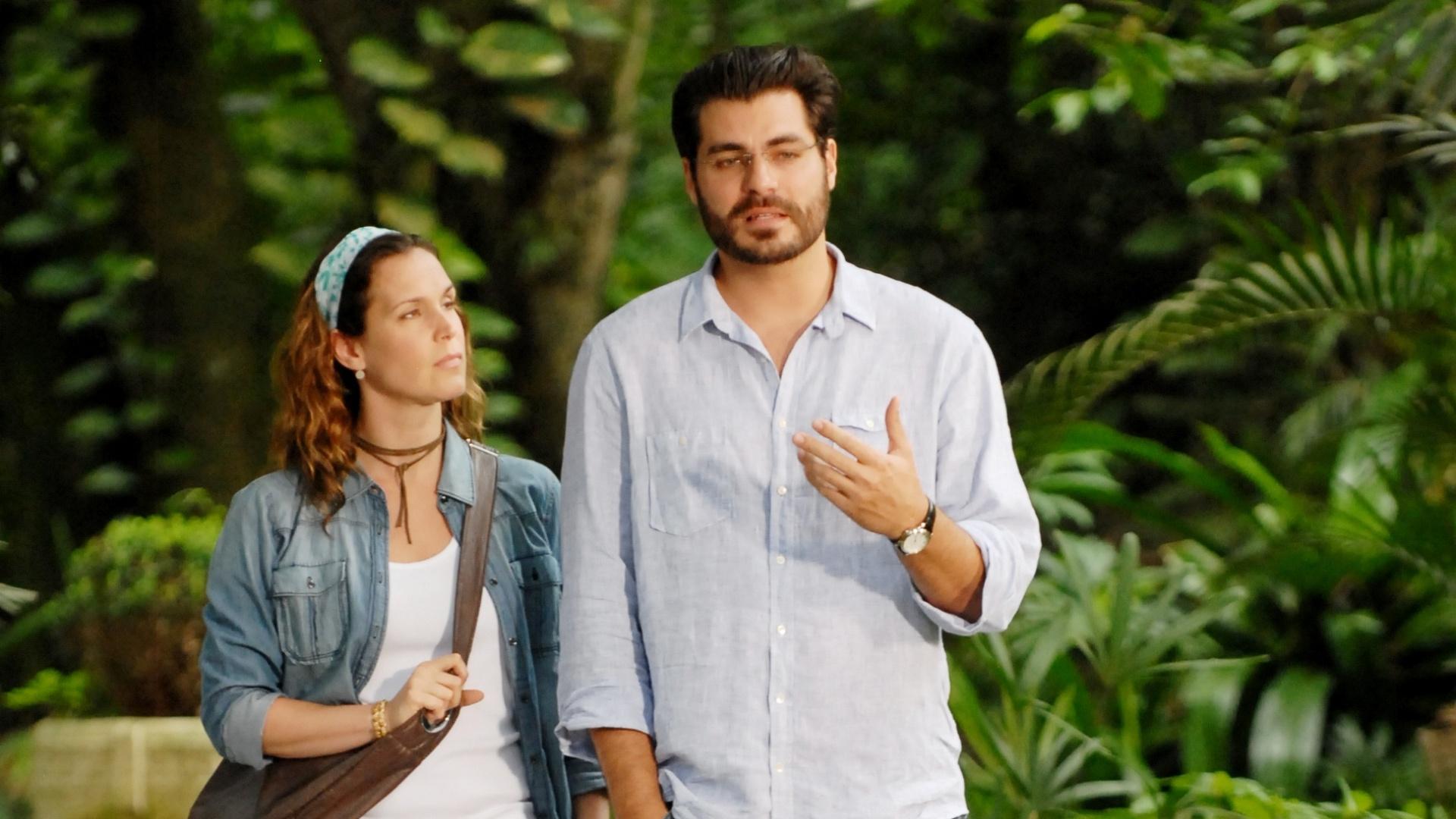 Vanessa Lóes e Thiago Lacerda em cena de