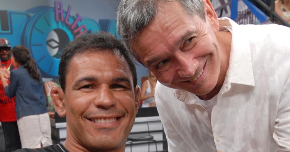 O lutador de MMA, Minotauro participa do