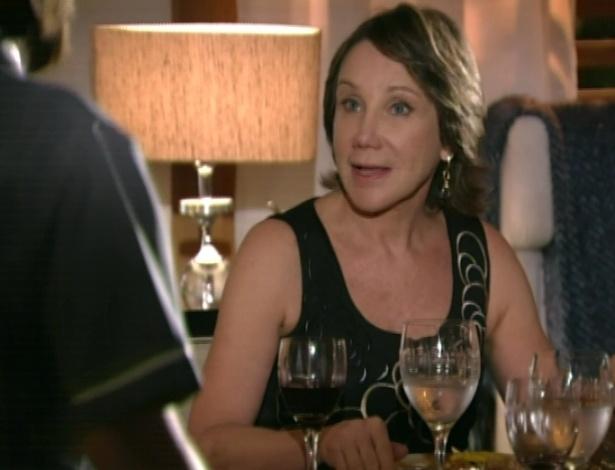 Dona Ângela diz o que o Dr. Jonas deve comer no almoço e no jantar