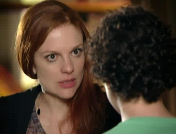 Nanda percebe a armação de Francisco e vai tirar satisfação com ele