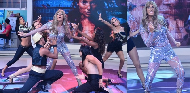 Rodrigo Faro homenageia Jennifer Lopez no