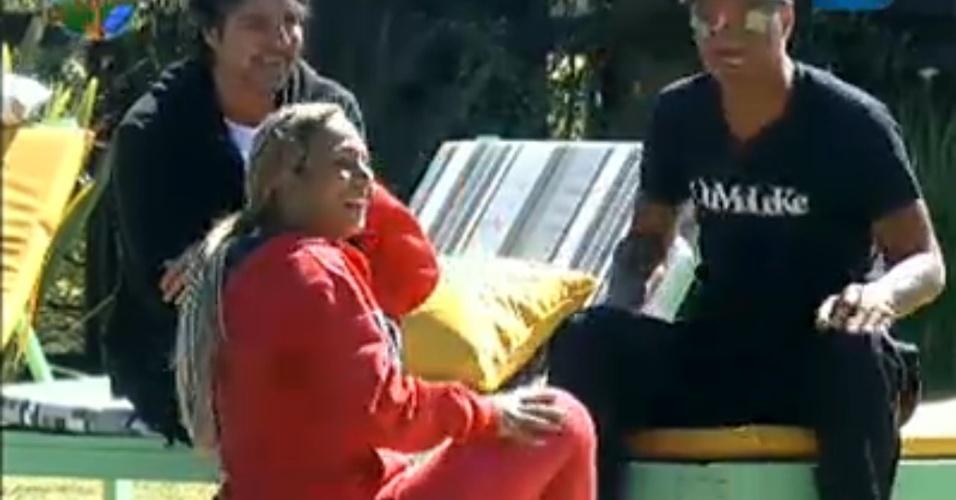 Dinei, João Kléber e Valesca falam da desunião da equipe Ovelha (04/8/11)
