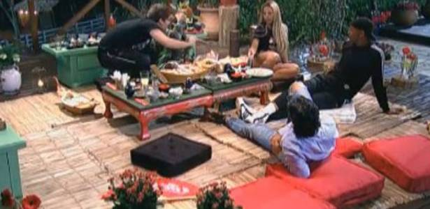 Peões elegeram Taciane como a peoa mais falsa do reality (08/08/11)
