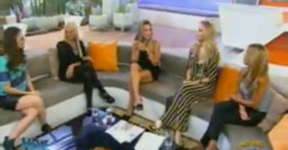 Monique, Joana e Raquel participam do programa