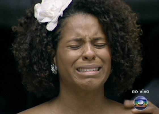Janaína chora ao saber que está no Paredão junto com Lucival e Ariadna (16/1/11)