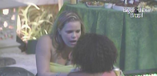 Paula diz a Janaína que a dançarina não é sua primeira opção de voto (2/2/11)
