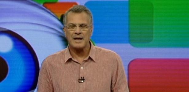 Pedro Bial apresenta o 5º paredão neste domingo (6/2/11)