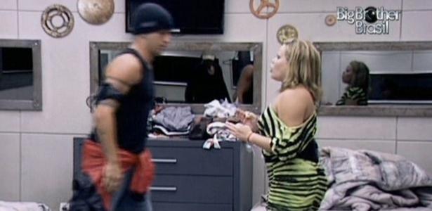 Diogo chamou Paula de moleca e menininha durante a discussão com a
