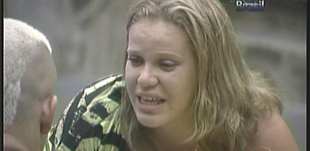 Paula assume a Diogo que é mimada e diz que ama todos dentro da casa (8/2/11)