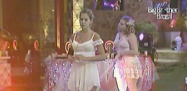 Adriana e Paula são as últimas