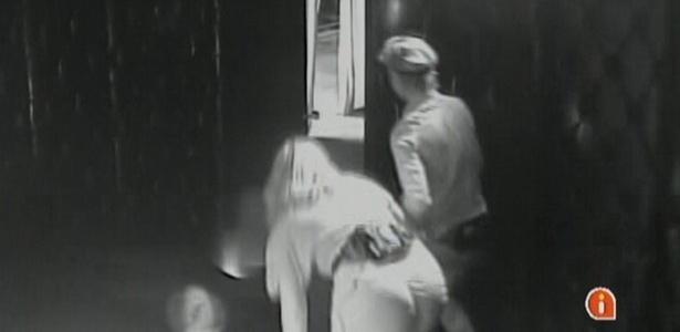Paula e Diana conseguem escapar do Quarto do Terror com muita facilidade (23/2/11)