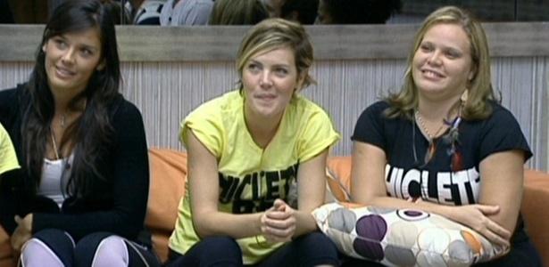 Talula, Diana e Paula conversam com Pedro Bial (24/2/11)