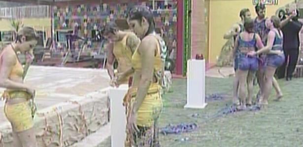Jaqueline, Maria, Paula, Rodrigão e Wesley continuam na casa de luxo (6/3/11)