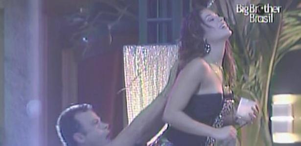 Daniel e Maria dançam juntos na Festa Dance Vibe (10/3/11)