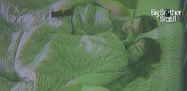 Diana, Maria e Daniel assistem Wesley dormindo sozinho no quarto jujuba (16/3/11)