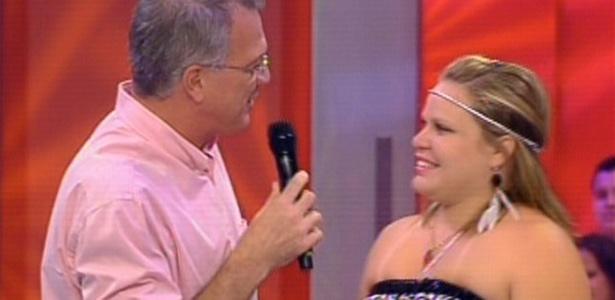 Pedro Bial entrevista Paulinha e a agora ex-bbb diz que foi um sonho participar do programa (20/3/11)