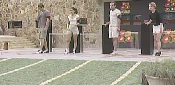 Quarteto disputa atividade surpresa nesta quarta-feira e Wesley ganha R$ 10 mil (23/3/11)