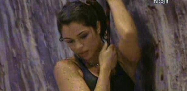 Maria se suja em parede da prova de resistência (24/3/11)