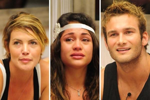 Diana, Maria e Wesley estão no último paredão do BBB11 (27/3/11)