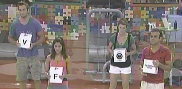 Maria e Daniel tm vantagem de uma casa em quiz que indica o novo lder do BBB11 (26/3/11)
