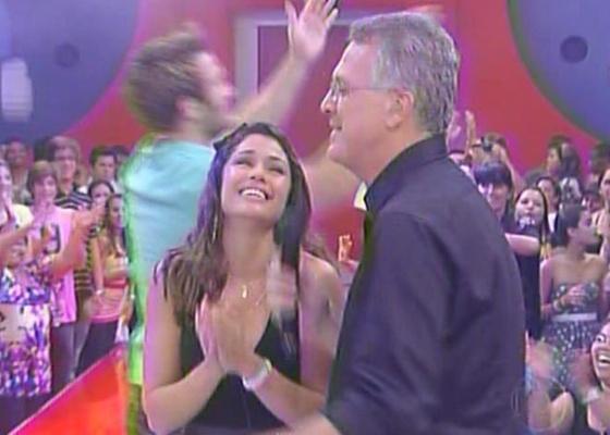 """Maria é a campeã do """"Big Brother Brasil 11"""" e fatura o prêmio de R$ 1,5 milhão"""" (29/3/11)"""