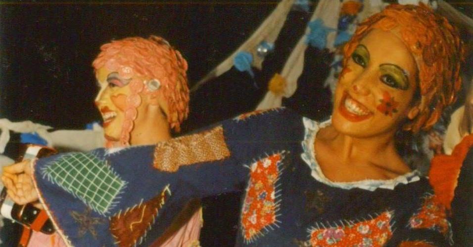 """Antes de viver a Marilda de """"Fina Estampa"""", Kátia Moraes estrelou em peças teatrais, como """"Muito Barulho por Nada de Shakespeare"""", que ficou em cartaz no Sesc Copacabana, no Rio de Janeiro"""