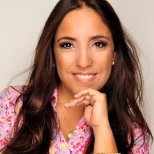 A atriz Kátia Moraes