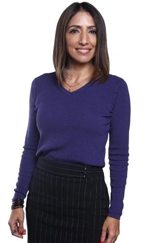 Flavia Garrafa é Gilda. Secretária da revista, mora no Edifício São Jorge com o marido Mauro (Gilberto Torres) e o filho adolescente  Julinho (Igor Cosso)