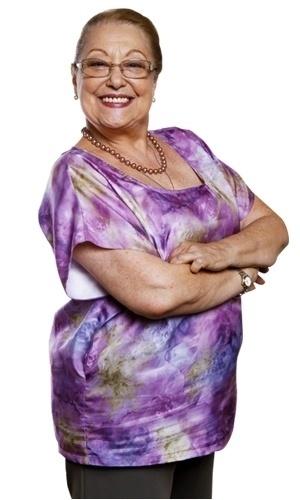 Suely Franco é Dona Zilda. Sogra de Gabriel (Felipe Camargo), é ela quem cuida das netas desde que sua filha morreu. Espiritualizada, está sempre alegre e de bem com a vida