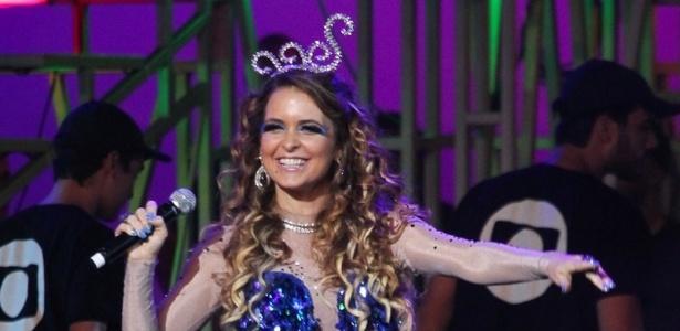 A atriz Cláudia Abreu como Chayene, sua vilã na próxima novela das 19h