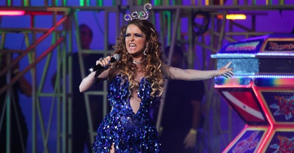 """A atriz Cláudia Abreu viverá a cantora de technobrega Chayene, uma vilã cômica na próxima novela das 19h """"Cheias de Charme"""""""